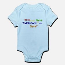 No-no Toddler Tag Cloud Infant Bodysuit