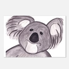 Unique Australian bear Postcards (Package of 8)