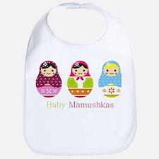 baby mamushkas Bib