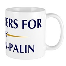 PLASTERERS for McCain-Palin Mug