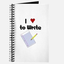 I Love to Write Journal