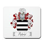 Patrizi Family Crest Mousepad