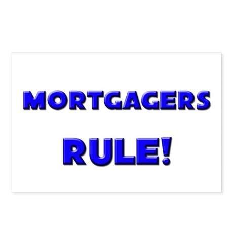 Mortgagers Rule! Postcards (Package of 8)