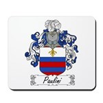 Paulini Family Crest Mousepad