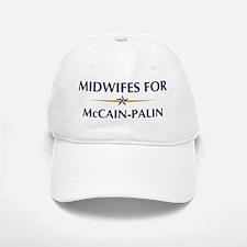 MIDWIFES for McCain-Palin Baseball Baseball Cap