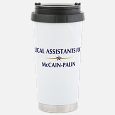 LEGAL ASSISTANTS for McCain-P Travel Mug
