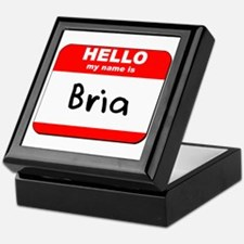 Hello my name is Bria Keepsake Box