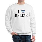 I Love Belize Sweatshirt
