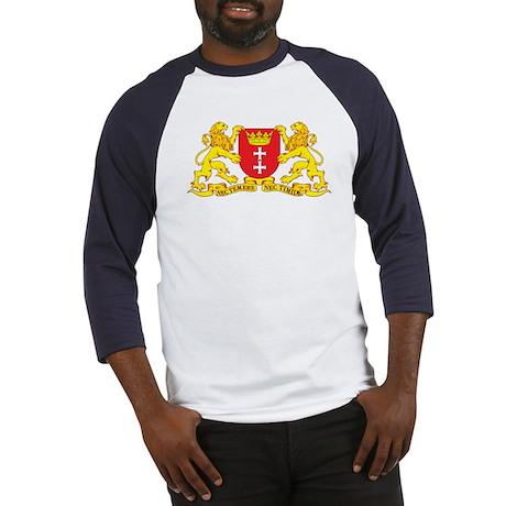 Gdansk Coat of Arms (Danzig) Baseball Jersey