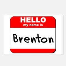 Hello my name is Brenton Postcards (Package of 8)