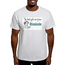 Best Girls Rhinelander Ash Grey T-Shirt