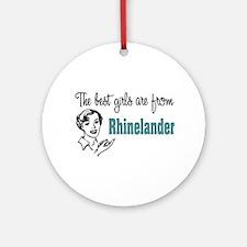 Best Girls Rhinelander Keepsake (Round)