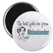 Best Girls Rhinelander Magnet