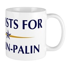 LYRICISTS for McCain-Palin Mug