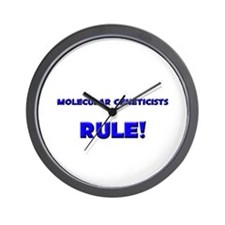 Molecular Geneticists Rule! Wall Clock