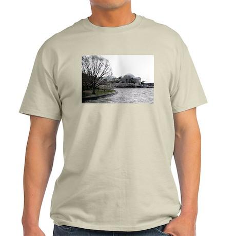 Jefferson Memorial Ash Grey T-Shirt
