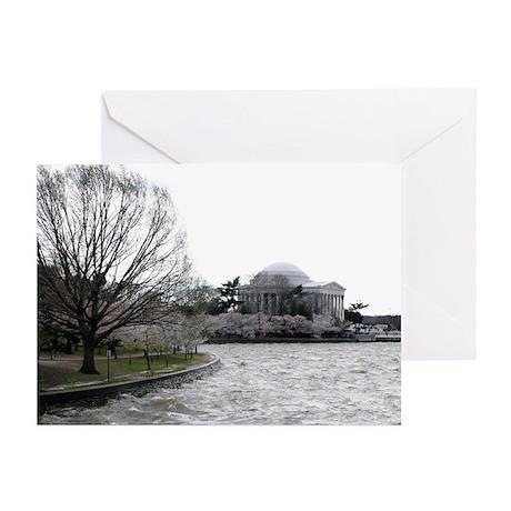Jefferson Memorial Greeting Cards (Pk of 10)