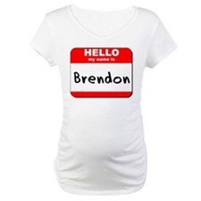 Hello my name is Brendon Shirt
