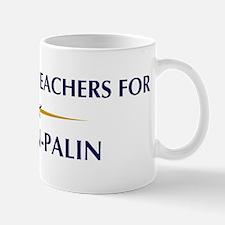 GEOGRAPHY TEACHERS for McCain Mug