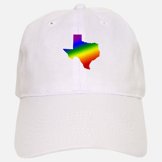 Texas Gay Pride Baseball Baseball Cap