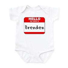 Hello my name is Brenden Onesie