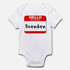 Hello my name is Brenden Onesie