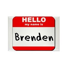 Hello my name is Brenden Rectangle Magnet (10 pack