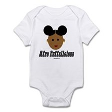 Afro Puffalicious Infant Bodysuit