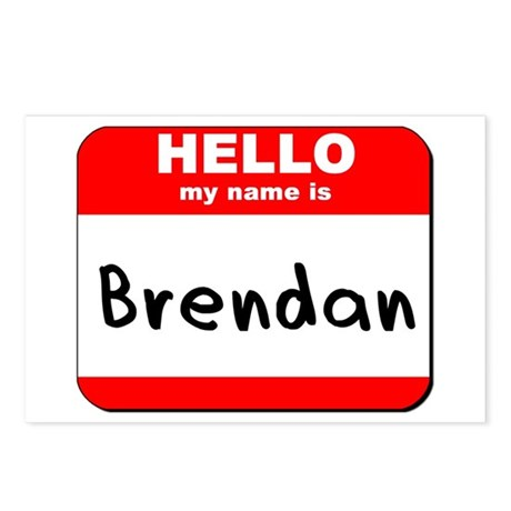 Hello my name is Brendan Postcards (Package of 8)