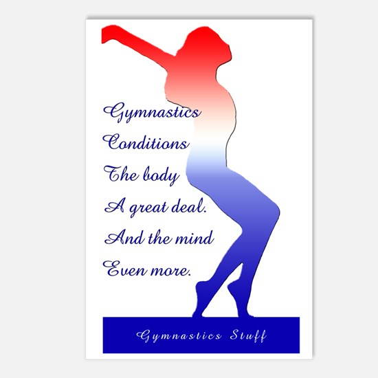 Gymnastics Postcards (8) - Mind