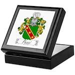 Pecci Family Crest Keepsake Box