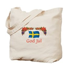 Sweden God Jul 2 Tote Bag