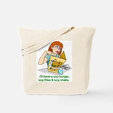 health food soy diet Tote Bag