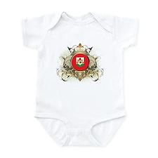 Stylish Bermuda Infant Bodysuit