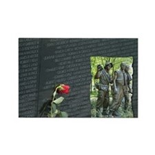 vietnam wall memorial Magnets