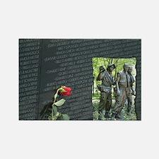 vietnam wall memorial Magnets