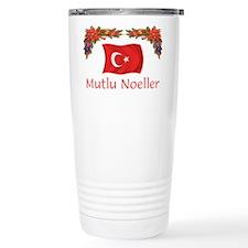 Turkey Mutlu Noeller Travel Mug