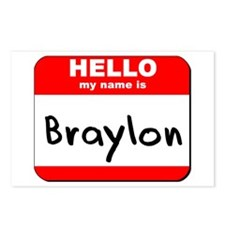 Hello my name is Braylon Postcards (Package of 8)