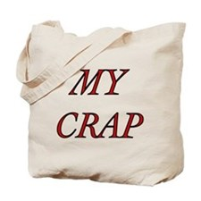 My Crap Tote Bag