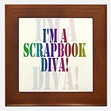 Scrapbook Diva Framed Tile