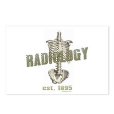 RADIOLOGY Postcards (Package of 8)