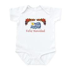 Uruguay Feliz Navidad Infant Bodysuit