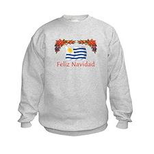 Uruguay Feliz Navidad Sweatshirt