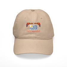 Uruguay Feliz Navidad Baseball Cap