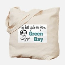 Best Girls Green Bay Tote Bag