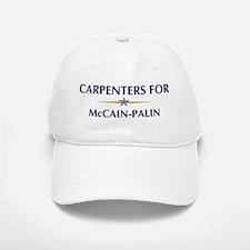 CARPENTERS for McCain-Palin Baseball Baseball Cap