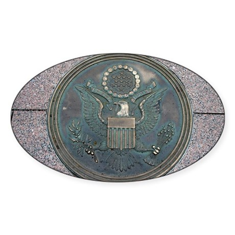 New Great Seal of the US Oval Sticker
