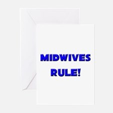 Midwives Rule! Greeting Cards (Pk of 10)