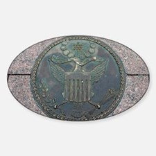 Original Great Seal of the US Oval Decal