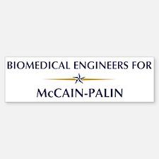 BIOMEDICAL ENGINEERS for McCa Bumper Bumper Bumper Sticker